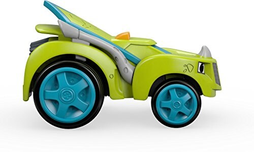 Fisher-Price® Nickelodeon Blaze & the Monster Machines Zeg Race Car Toy Perspective: back