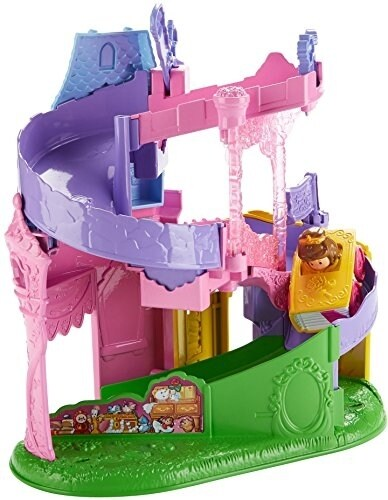 Fisher-Price Little People Disney Princess Wheelies Playset Doll Perspective: back