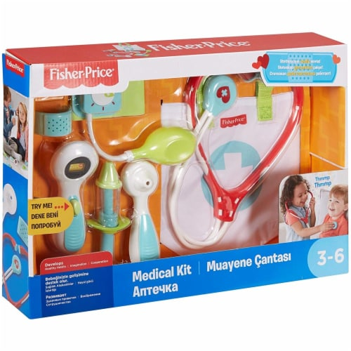 Fisher-Price® Medical Kit Perspective: back