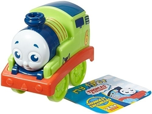 Fisher-Price My First Thomas & Friends Push Along Percy Train Perspective: back