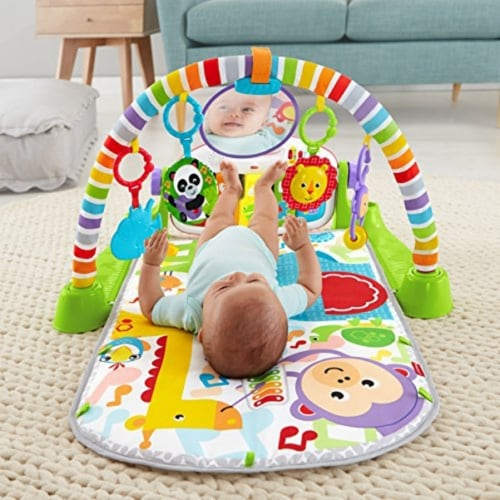 Fisher-Price Deluxe Kick 'n Play Piano Gym Perspective: back