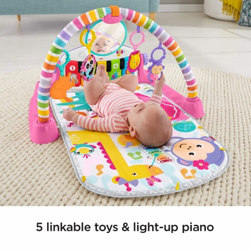 Fisher-Price® Kick & Play Piano Baby Playset Perspective: back