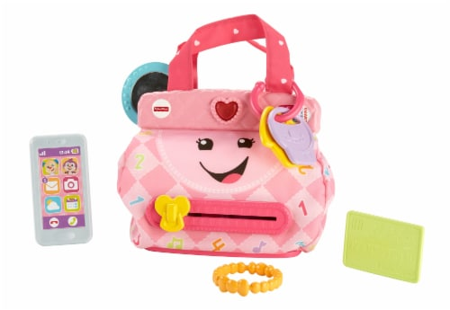 Fisher-Price® Laugh and Learn My Pretty Little Learning Purse Toy Perspective: back