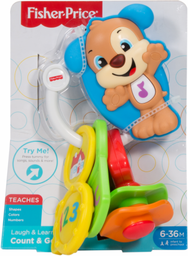 Fisher-Price® Laugh & Learn Count & Go Keys Perspective: back