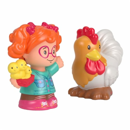 Fisher-Price® Little People Sofie and Rooster Perspective: back