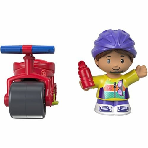 Fisher-Price Little People - Cyclist Samuel & Bike Perspective: back