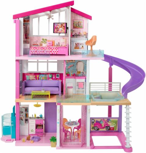 Mattel Barbie® Dreamhouse™ Dollhouse Perspective: back