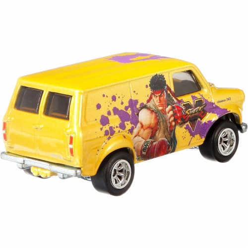 Mattel Hot Wheels® Pop Culture Ford Transit Super Van Perspective: back