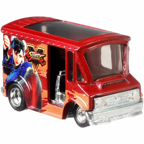 Mattel Hot Wheels® Pop Culture Bread Box Car Perspective: back