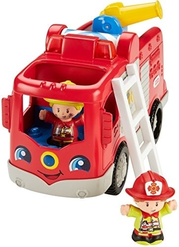 Fisher-Price® Little People Helping Others Fire Truck Perspective: back