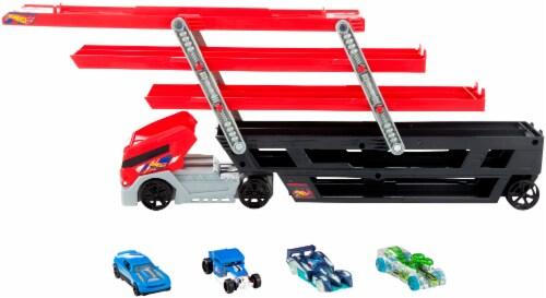 Mattel Hot Wheels® Mega Hauler Toy Set Perspective: back