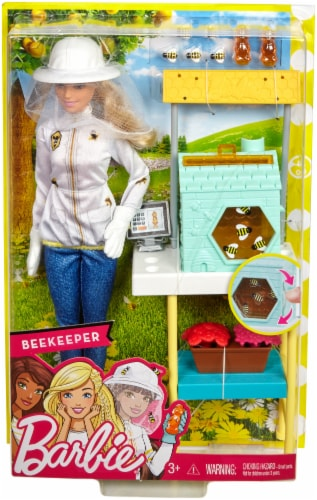 Mattel Barbie® Beekeeper Playset Perspective: back