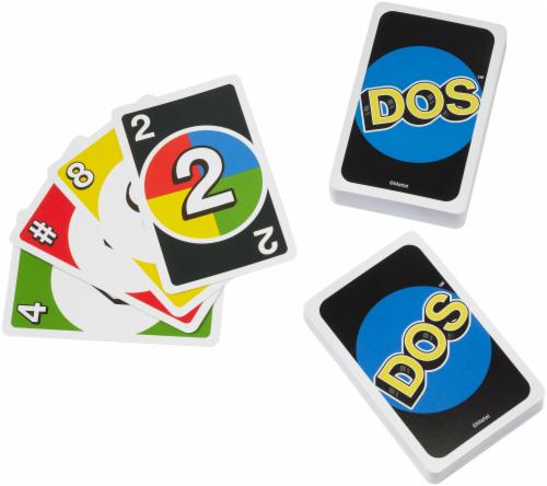 Mattel DOS Card Game Perspective: back