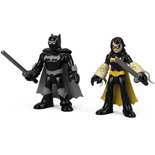 Fisher-Price® Imaginext DC Super Friends Black Bat & Ninja Batman Perspective: back