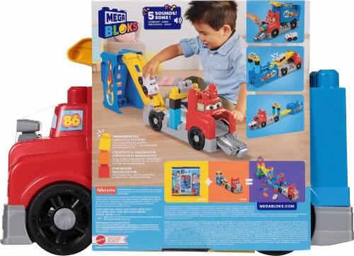 Mega Bloks® Build and Race Rig Perspective: back