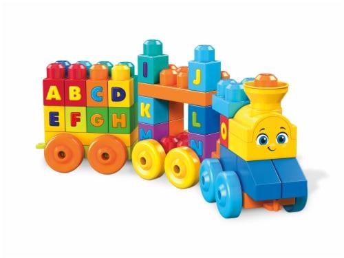 Mega Bloks® ABC Musical Train Perspective: back
