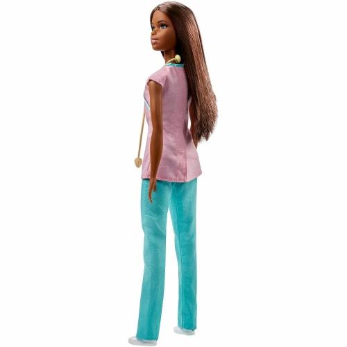 Barbie Nurse Doll, Brunette Perspective: back