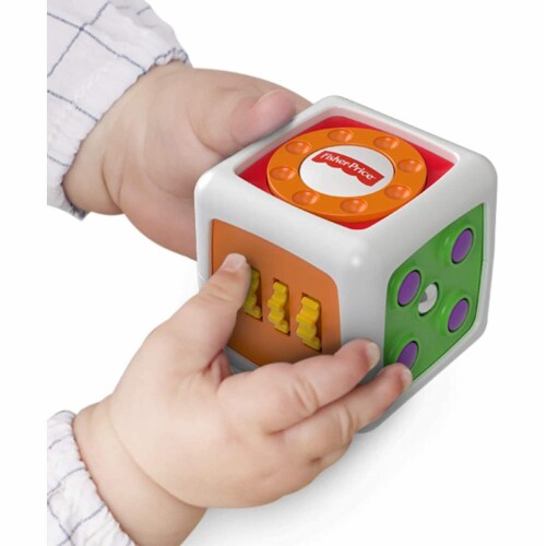 Fisher-Price My First Fidget Cube Perspective: back