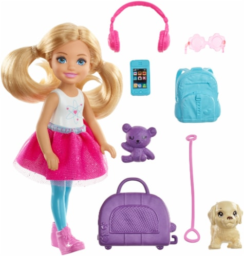 Barbie® Chelsea Travel Doll Play Set Perspective: back