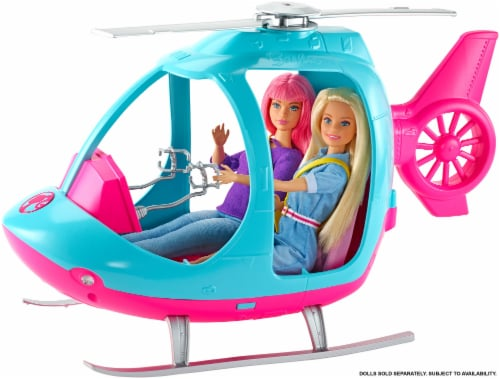 Barbie Dreamhouse Adventures Helicopters Perspective: back