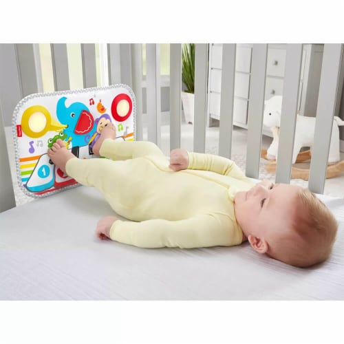 Fisher Price® Smart Stages Kick And Play Crib Piano Perspective: back