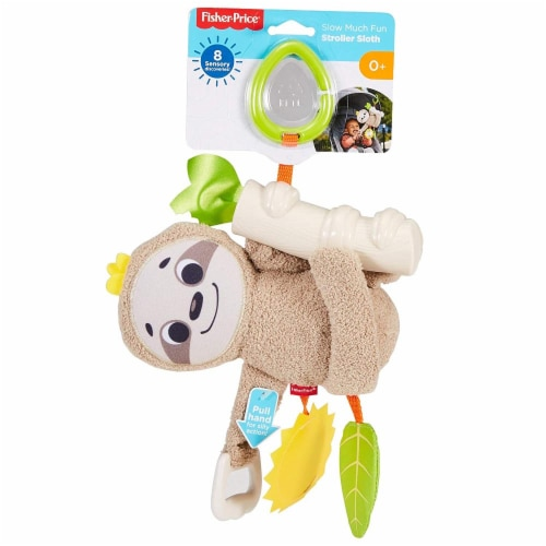 Fisher-Price® Slow Much Fun Stroller Sloth Perspective: back
