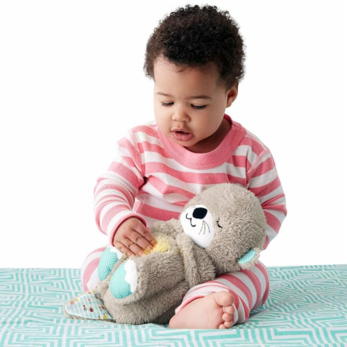 Fisher-Price Soothe 'n Snuggle Otter Perspective: back