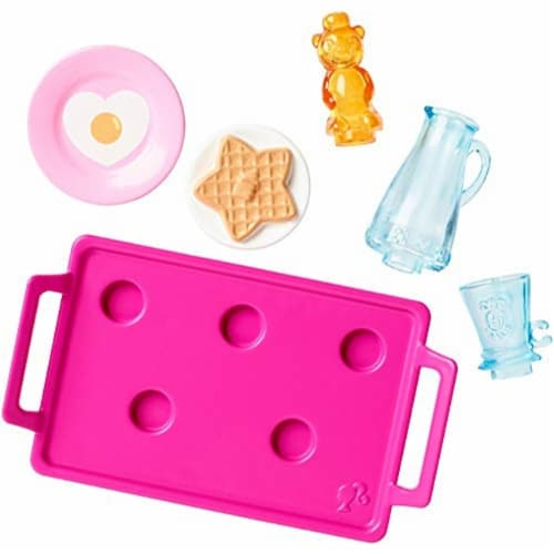 Barbie Breakfast Accessory Pack Perspective: back