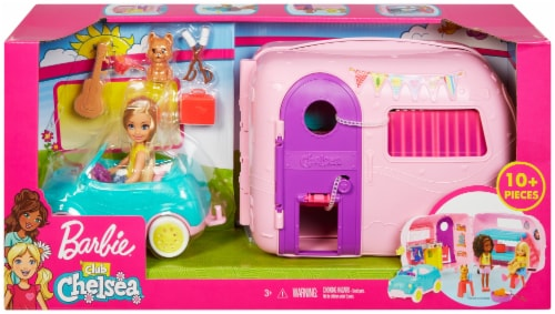 Mattel Barbie® Club Chelsea Camper and Accessories Perspective: back
