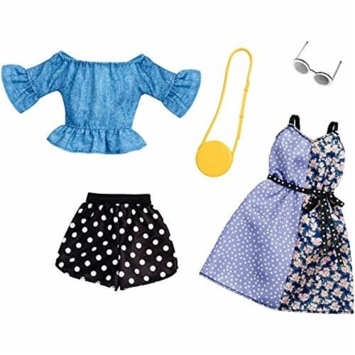 Barbie Fashion, Polka Dots,2 count Perspective: back