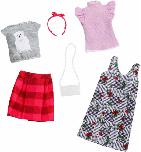 Barbie Fashion - Mix Checks and Nature Perspective: back