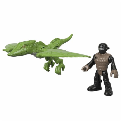 Fisher-Price® Imaginext Jurassic World Pterodactyl Dinosaur Action Figure Set Perspective: back