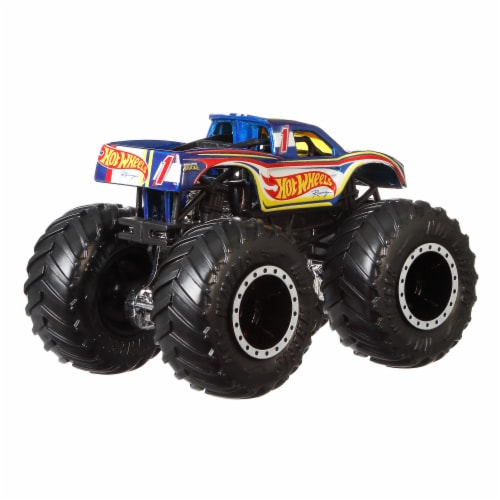 Mattel Hot Wheels® Monster Trucks - Assorted Perspective: back