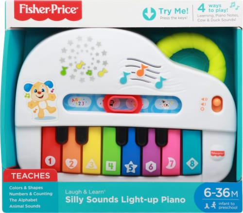 Fisher-Price® Laugh & Learn™ Silly Sounds Light-Up Piano Perspective: back