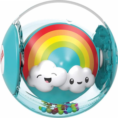 Fisher-Price Hello Sunshine Rattle Ball Perspective: back
