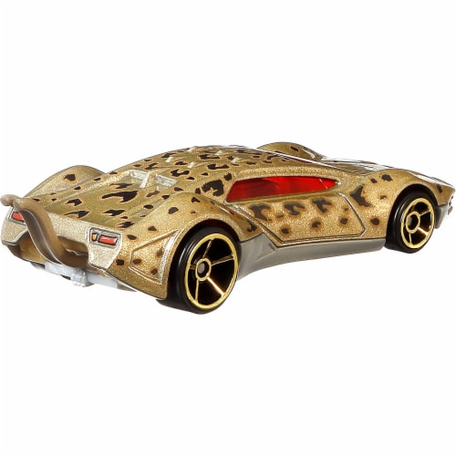 Mattel Hot Wheels® DC Universe Character Cars Perspective: back