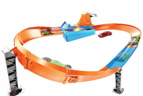Mattel Hot Wheels® Drift Master Champion Playset Perspective: back