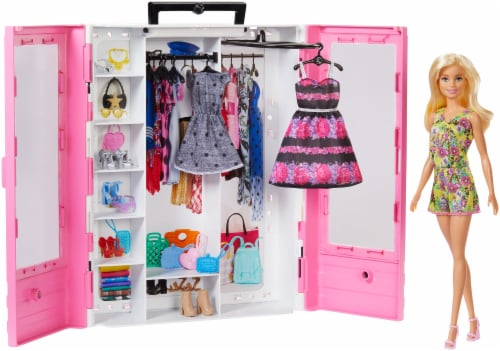 Mattel Barbie® Fashionistas Ultimate Closet Doll and Accessories Perspective: back