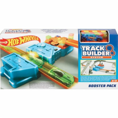 Hot Wheels Track Builder Booster Pack Playset, Multicolor (GBN81) Perspective: back