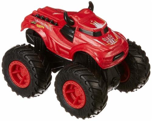 Mattel Hot Wheels® Monster Trucks Rev Tredz Steer Clear Vehicle Perspective: back