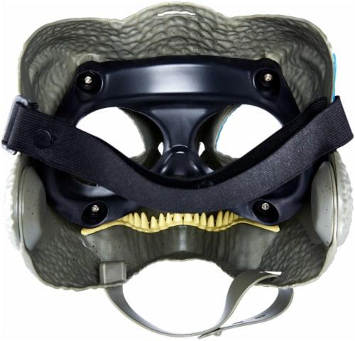 Mattel Jurassic World Velociraptor Camp Cretaceous Mask - Blue Perspective: back