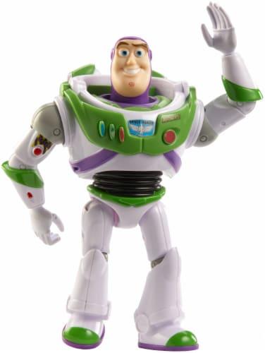 Mattel Disney Pixar Toy Story 4 Buzz Lightyear Figure Perspective: back