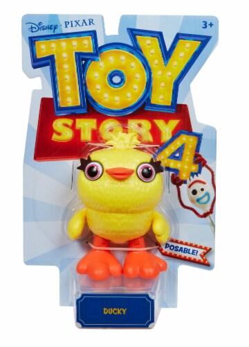 Mattel Disney Pixar Toy Story 4 Ducky Figure Perspective: back