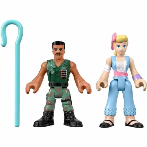 Imaginext® Toy Story Disney Pixar 4 Combat Carl and Bo Peep Figurines Perspective: back