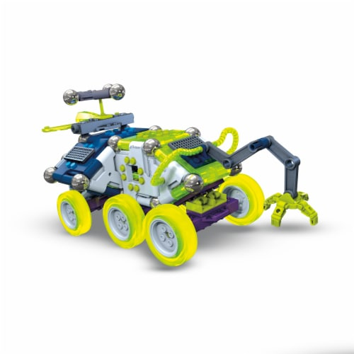 Mega Construx Magnext Rocky Rover 5 In 1 Spaceship Mag Explorers Building Toy Perspective: back