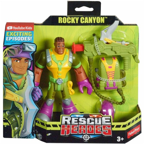 Fisher-Price® Rescue Heroes Rocky Canyon Perspective: back