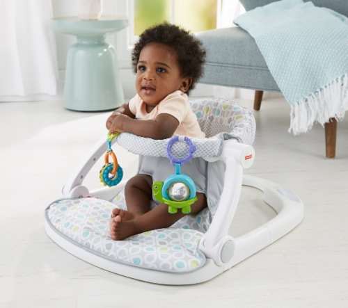 Fisher-Price® Sit Me Up Floor Seat Perspective: back