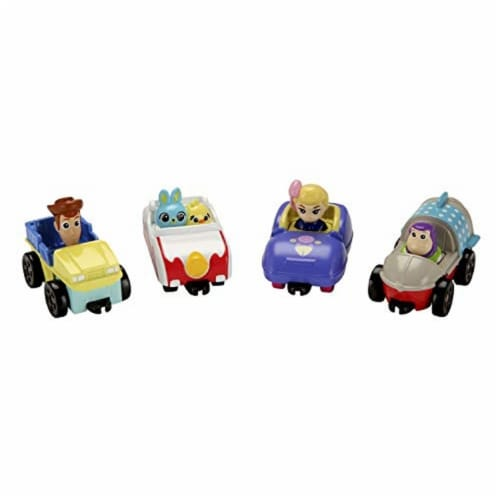 Toy Story Fisher-Price Disney Pixar 4 Carnival Speedsters Perspective: back