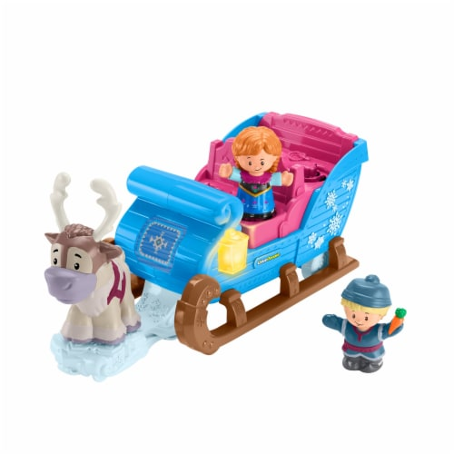 Fisher-Price® Little People Disney Frozen Kristoff's Sleigh Perspective: back