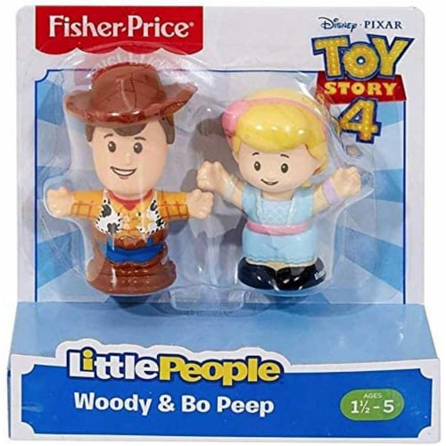 Little People Toy Story Figures - Woody & Bo Peep Perspective: back